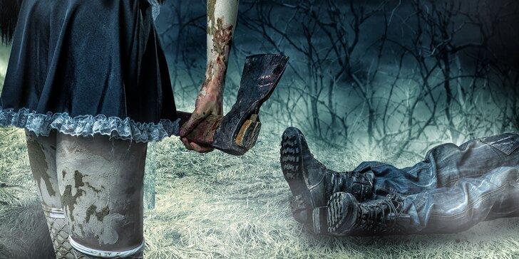 Pojďte se bát, bloudící duše čekají na záchranu: únikovka Kanibalové pro 5 osob