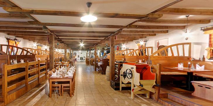 Selský dvůr Vyškov: pobyt s privátním wellnes, lahví sektu a skvělou kuchyní