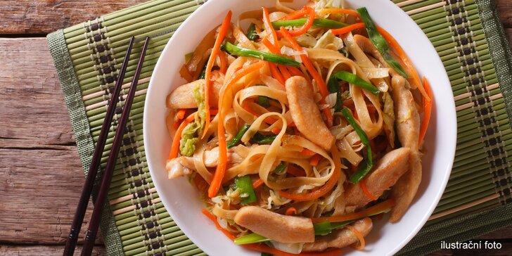 Nechte se očarovat asijskou či mexickou kuchyní: menu dle výběru pro 1 nebo 2