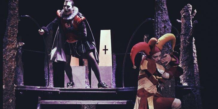 Vstupenka na divadelní představení Soudné sestry