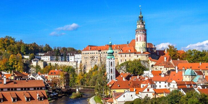 Všechny krásy na dosah: pobyt v historickém centru Českého Krumlova