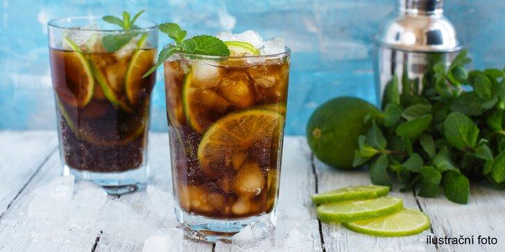 Havana party na Moravě: 2 či 4 koktejly ze 3 druhů s rumem Havana Club