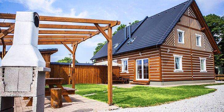 Wellness pohoda na Třeboňsku: roubenka až pro 9 osob se saunou a vířivkou