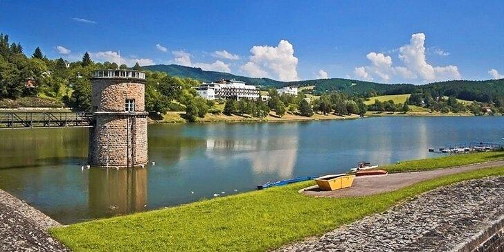 Prima léto v Luhačovicích: wellness, polopenze a spousta aktivit poblíž přehrady