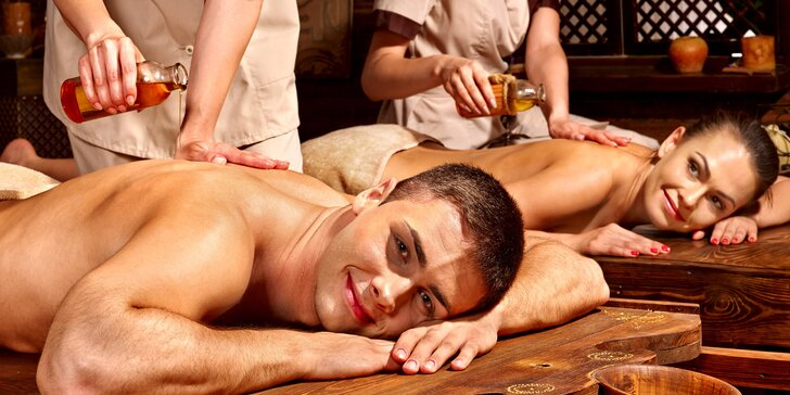 Romantika po thajsku: olejová partnerská masáž na 60 nebo 90 minut