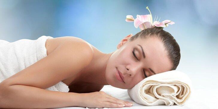 Relaxační balíček - Kosmetické ošetření + celotělová masáž