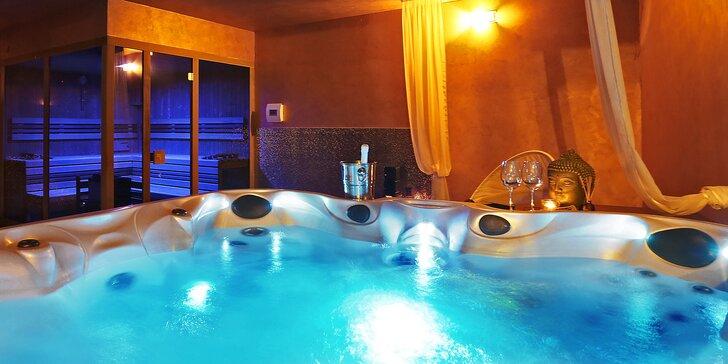 Dvouhodinový relaxační zážitek v privátní vířivce pro 2–4 osoby