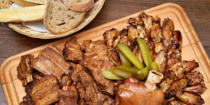 Masová hostina na Jižáku až pro 6 osob – na čepu piva z německého Oktoberfestu