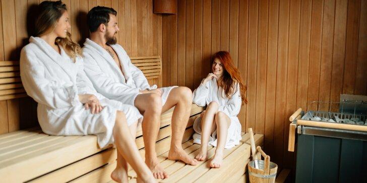 Privátní saunování až pro 6 osob v rodinném penzionu Valmi