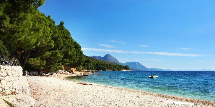 Na Chorvatsko ještě není pozdě: autobusem do kempu přímo u moře