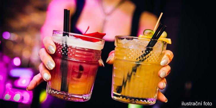 Večírek v barvách Tribunalu: 2 až 6 z pěti druhů koktejlů v centru Brna