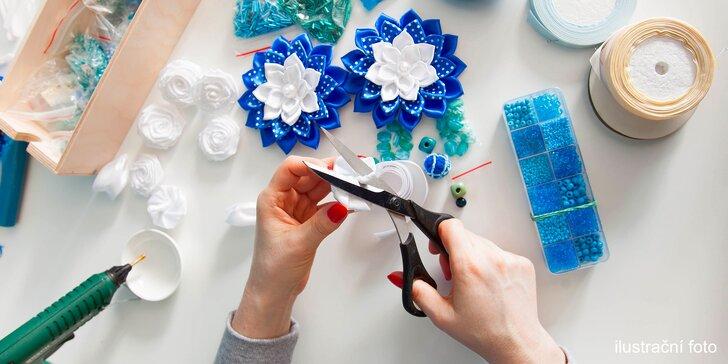 Květy jako živé: 2 hodiny vyrábění krásných doplňků a dekorací