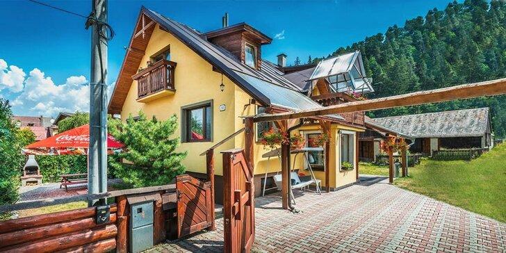 Pobyt v kompletně vybavené chatě s vířivkou, saunou i stolním fotbálkem