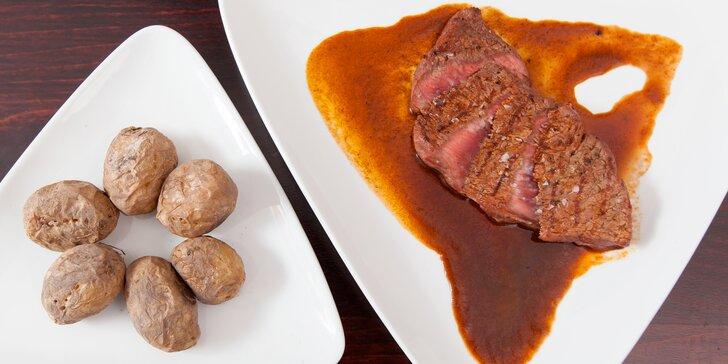 Delikátní gastronomie, co má renomé: 5chodové menu pro dva s vínem či bez