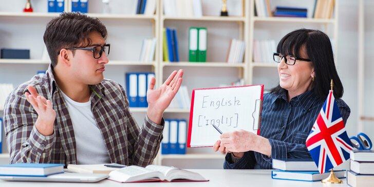 Na zlepšení angličtiny není nikdy pozdě: semestr s lektorkou se 17letou praxí
