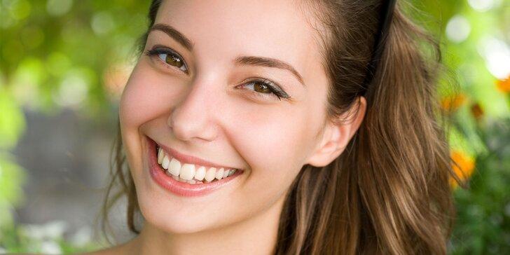 Neperoxidové bělení zubů včetně remineralizace zubní skloviny