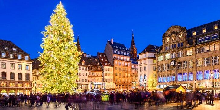 Adventní putování Alsaskem a vánoční trhy ve Štrasburku s dopravou i ubytováním