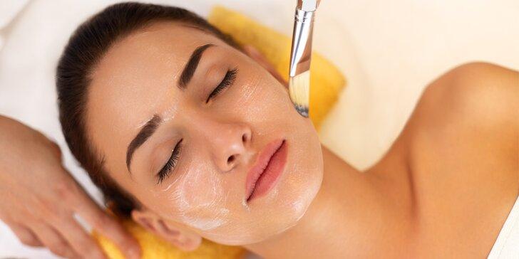 Luxusní kosmetické ošetření včetně masáže v délce 80 minut
