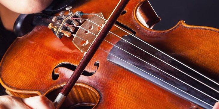 Koncert velkých mistrů v Mramorovém sále Clamm-Gallasova paláce