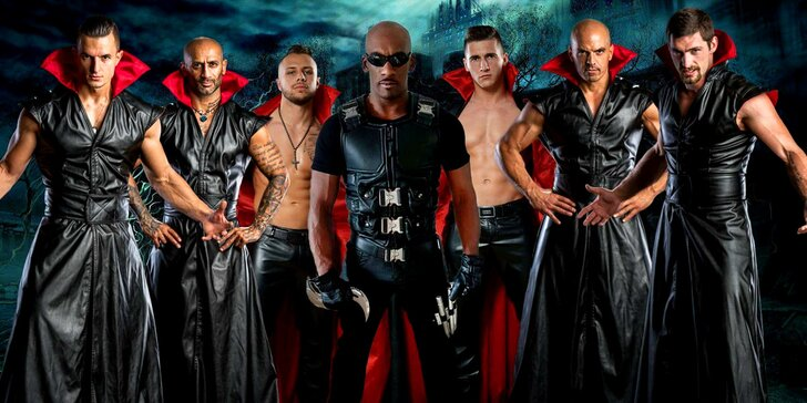 Pánská striptýzová show se sexy upíry Blade VS Vampires – i VIP vstupenky