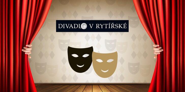 Pojďte se bavit: 30% sleva až na 2 vstupenky do Divadla v Rytířské