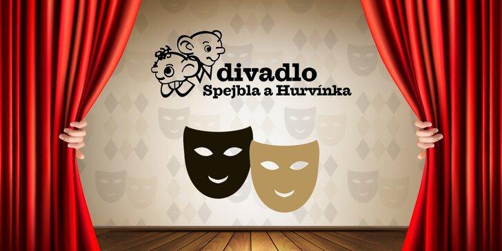 Divadlo Spejbla a Hurvínka zve dospěláky: 30% sleva na představení pro dva