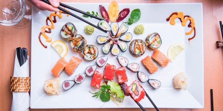 Láska na první sousto v srdci Brna: Famózní sushi sety z designové restaurace
