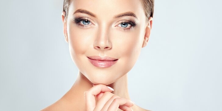 Kosmetické ošetření pleti vč. úpravy obočí a masáže obličeje