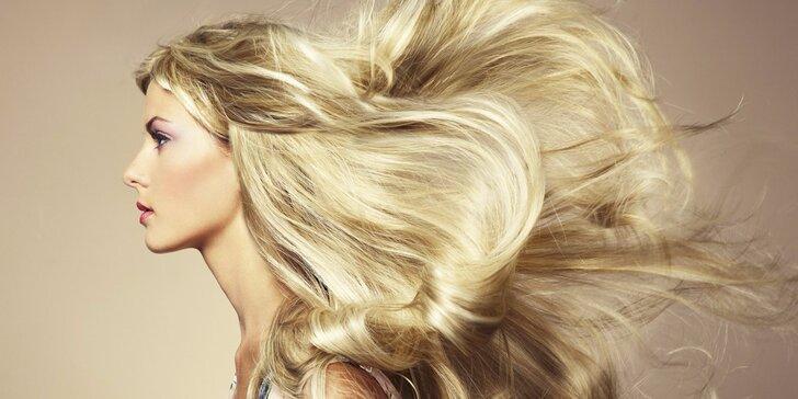 Keratinová regenerace vlasů jakékoliv délky s mytím, foukanou a stylingem