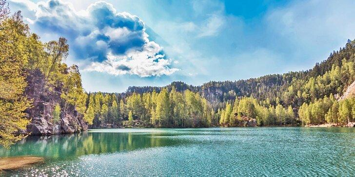 Podzimní turistika: motel u Babiččina údolí a Adršpachu s polopenzí