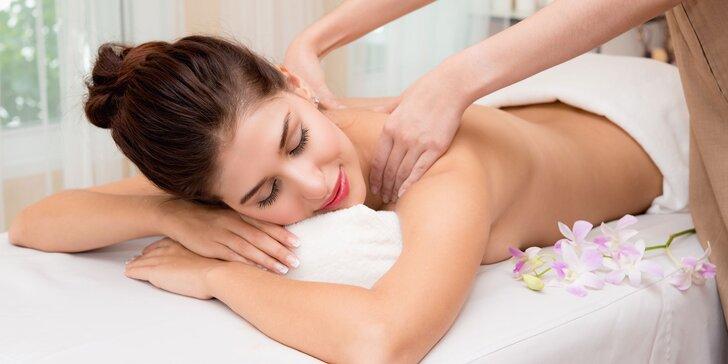 60minutová havajská relaxační masáž LOMI-LOMI