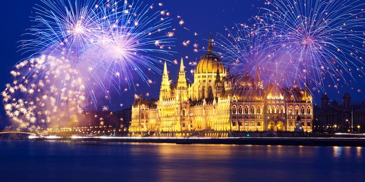 Silvestrovský výlet do Budapešti s odjezdy z Moravy na otočku