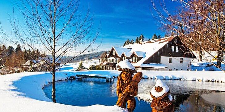 Zažijte Silvestr v Krkonoších – lyžovačka, polopenze i večírek s ohňostrojem