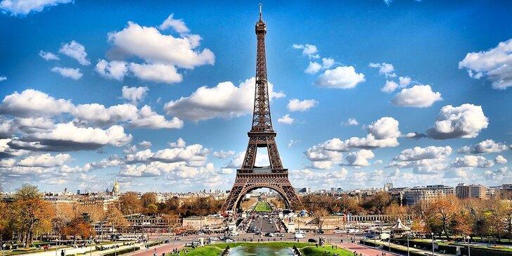 Nechte se okouzlit Paříží a Versailles: 4denní zájezd vč. 1 noclehu se snídaní