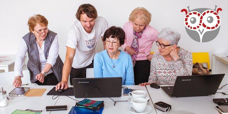 WhatsApp? To dá i vaše babička! Podpořte vznik digitálních koutků pro seniory