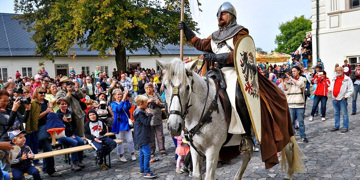 Svatováclavská slavnost ve Svijanech: hudba, pivní speciál i prohlídka zámku
