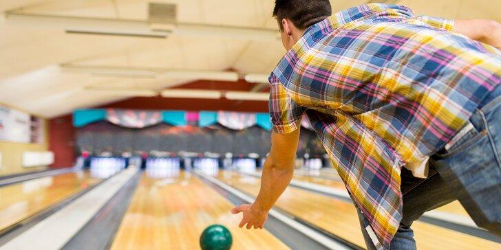 Skupinová zábava na 1 nebo 2 hodiny: Bowling až pro 8 osob