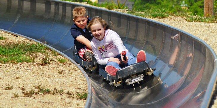 Ať vám to sviští: 10 zábavných sjezdů na bobové dráze v Janově nad Nisou