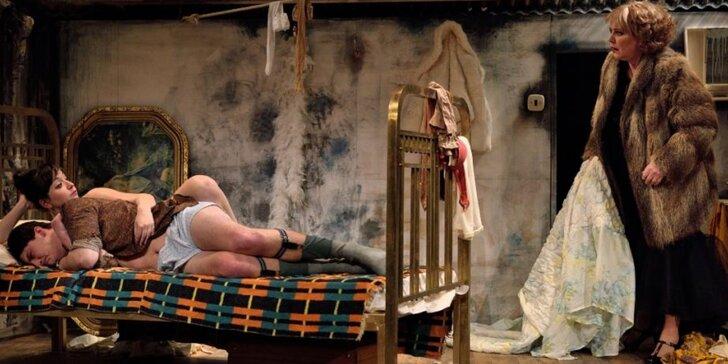 Vstupenka na představení Slepice od Nikolaje Koljada