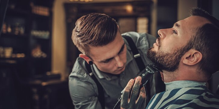 Zkroťte vlasy i vousy: Služby pro gentlemany v exkluzivním barber shopu