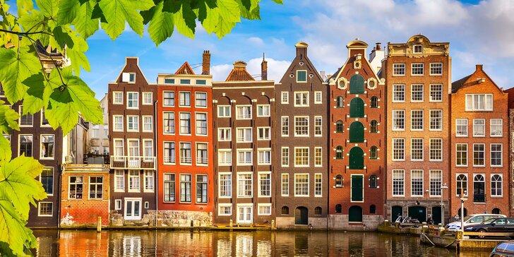 Amsterdam, degustace sýrů na tradiční farmě a přístavní městečko Volendam