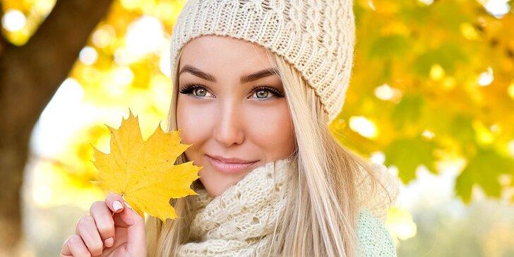 Krásná a svěží pleť i v podzimním nečasu: 60minutová komplexní péče