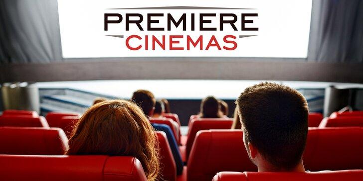Vstupenky do multikina Premiere Cinemas, občerstvení i věrnostní karta