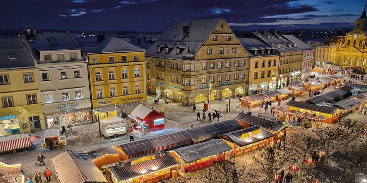 Adventní výlet do Bayreuthu: návštěva trhů a možnost koupání v termálních lázních