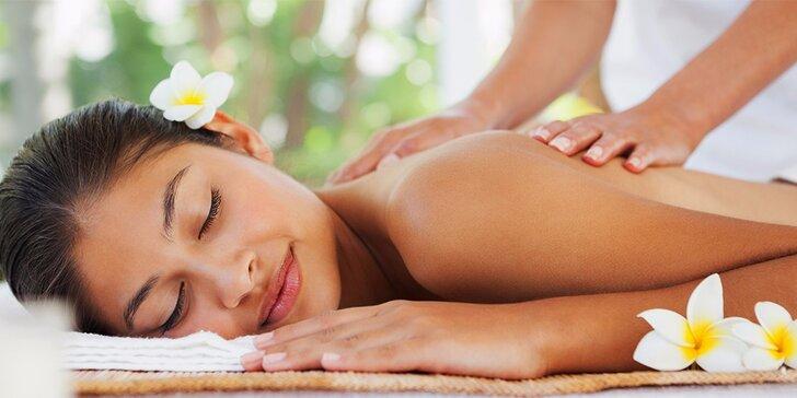 Harmonizující masáž celého těla – dvouhodinové hýčkání