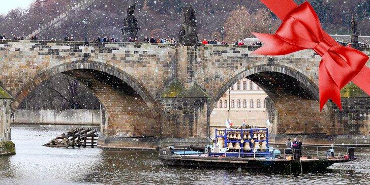 Pražské zvonohraní na Vltavě: plavba s rautem, aperitivem a koncertem