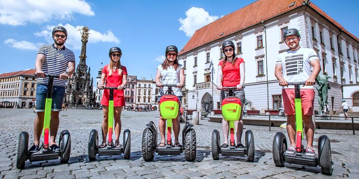 Na segwayi za krásami Olomouce: komentovaná projížďka s průvodcem