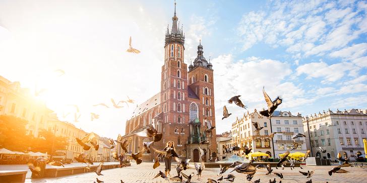 Pobyt v historickém Krakově se snídaní a neomezeným vstupem do bazénu
