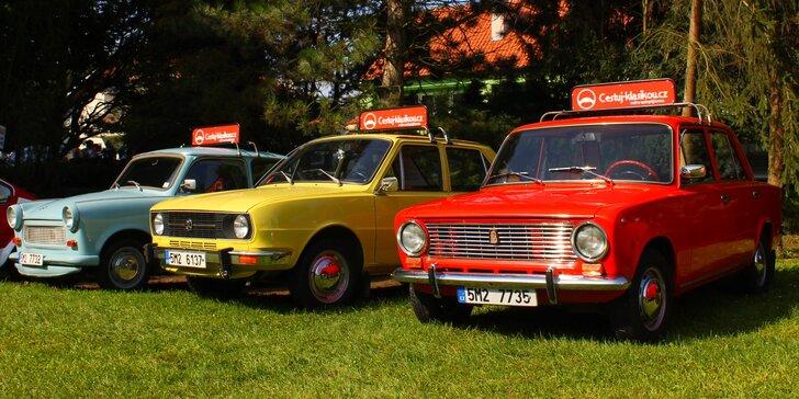 Na skok do 70. let: jízda ve 3 vozech tehdejší doby aneb co dokáže Trabant