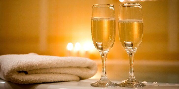 Relaxace ve dvou: 90 minut v privátním wellness se sklenkou prosecca
